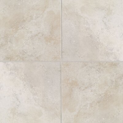 "Mohawk Flooring Casa Loma 20"" x 20"" Floor Tile in White Lace"