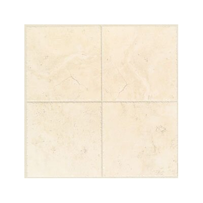 "Mohawk Flooring Bucaro 6 1/2"" x 6 1/2"" Floor Tile in Bianco"