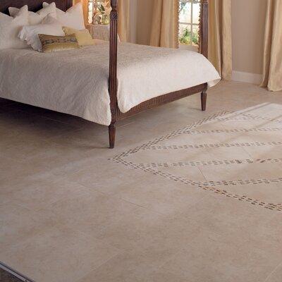 """Mohawk Flooring Mirador 20"""" x 20"""" Floor Tile in Brown Pearl"""