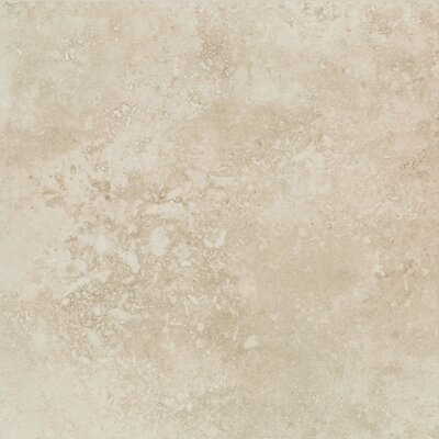 "Mohawk Flooring Mirador 20"" x 20"" Floor Tile in Ivory Cream"