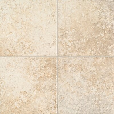 "Mohawk Flooring Orleans 6 1/2"" x 6 1/2"" Floor Tile in Morning Fawn"