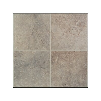 "Mohawk Flooring Egyptian Stone 20"" x 20"" Floor Tile in Nile Gray"