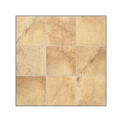 Mohawk Flooring Sardara Floor Tile in Piazza Gold