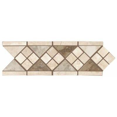 "Mohawk Flooring Natural Pavin Stone 12"" x 4"" Universal Decorative Border"