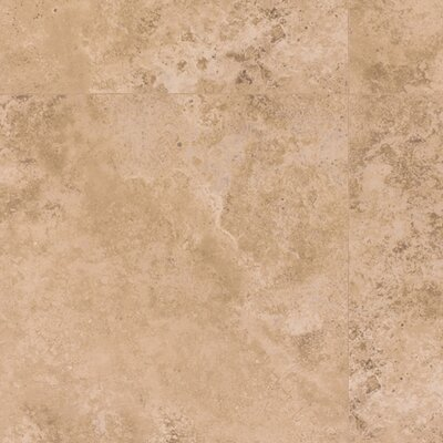 Mohawk Flooring Earthwork Palazzo 8mm Cross Cut Travertine Laminate in Light Nocino