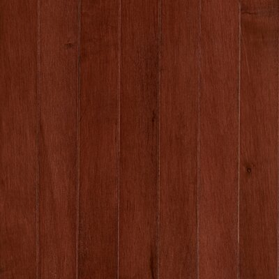 "Mohawk Flooring Revival Maple Ridge 2-1/4"" Solid Maple Flooring in Spice Cherry"