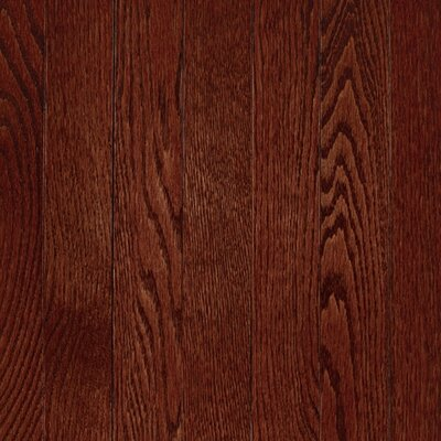 "Mohawk Flooring Lineage Rivermont 2 1/4"" Solid Oak Flooring in Cherry"