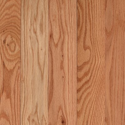"Mohawk Flooring Lineage Rivermont 3-1/4"" Solid Red Oak Flooring in Natural"