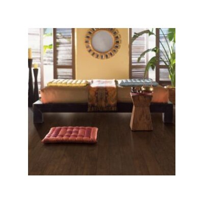 Mohawk Flooring Kincade 8mm Maple Laminate in Molasses