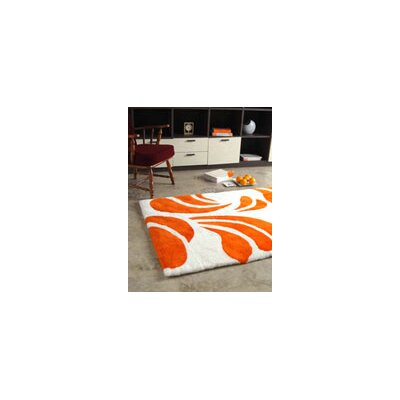 Bowron Sheepskin Shortwool Peach Design Rug
