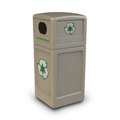 Commercial Zone Green Zone Industrial Recycling Bin
