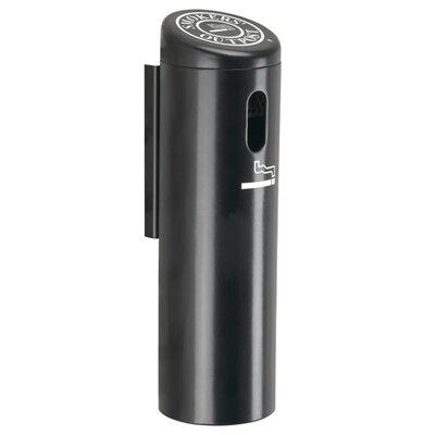Commercial Zone Wall-Mounted Ashtray Cigarette Receptacle