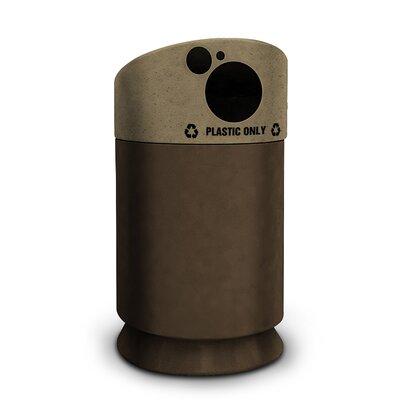 Commercial Zone Galaxy 35 Gallon Plastic Bottle Industrial Recycling Bin