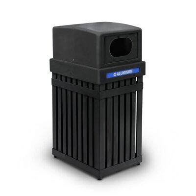 Commercial Zone ArchTec Parkview 25 Gallon Recycling Receptacle