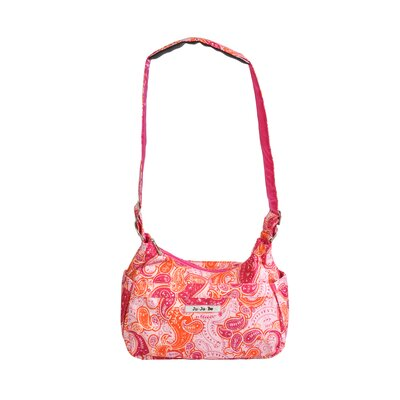 Ju Ju Be HoboBe Messenger Diaper Bag in Perfect Paisley