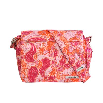 Ju Ju Be Better Be Messenger Diaper Bag in Perfect Paisley