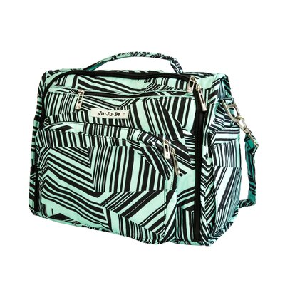 Ju Ju Be BFF Messenger / Backpack Diaper Bag in Mint Chip