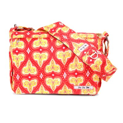 Be All Messenger Diaper Bag in Coral Kiss