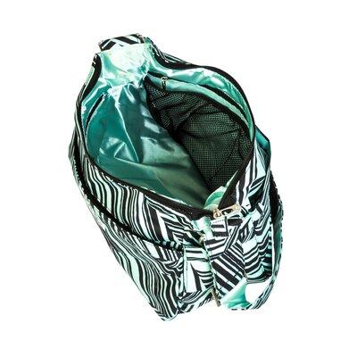 Ju Ju Be Hobo Be Messenger Diaper Bag in Mint Chip
