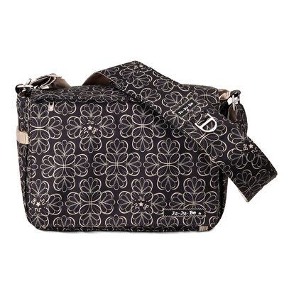 Ju Ju Be Be All Messenger Diaper Bag in Lotus Lullaby