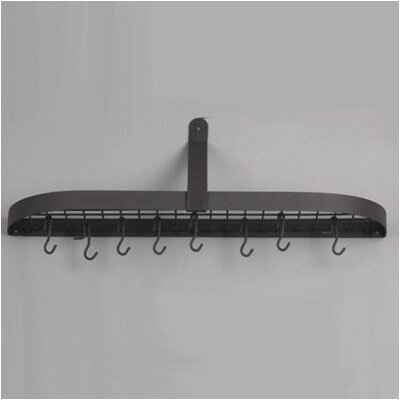 Wall Pot Rack with 12 Hooks