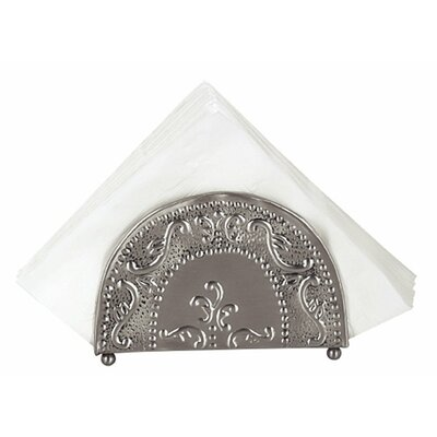 Victoria Embossed Napkin Holder