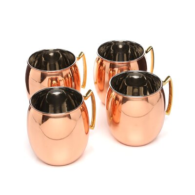 Old Dutch International 24 oz Moscow Mule Mug (Set of 4)