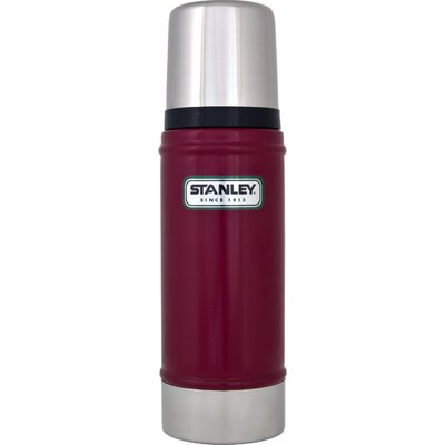 Aladdin 16 Oz Stanley Vacuum Bottle in Red