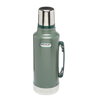 2 Quart Stainless Steel Thermos in Green