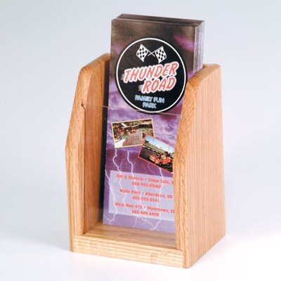 Wooden Mallet Countertop 1 Pocket Brochure Display