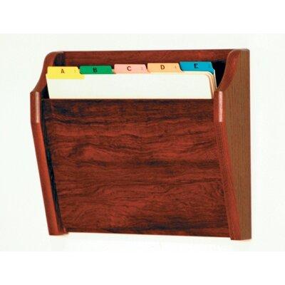 Wooden Mallet Single Tapered Pocket Chart Holder