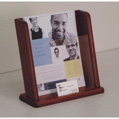 Wooden Mallet Countertop Literature Display
