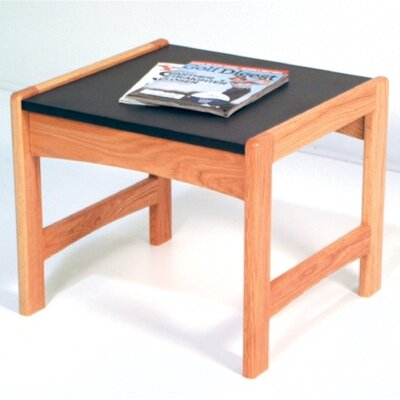 Wooden Mallet Dakota Wave End Table