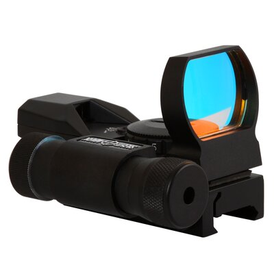 Sightmark Laser Dual Shot Reflex Sight with Dove Tail in Black