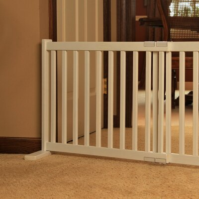 Dynamic Accents Kensington All Wood Free Standing Pet Gate