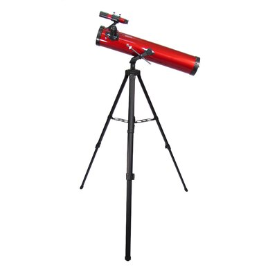 Carson Red Planet 35-88x76mm Newtonian Reflector Telescope
