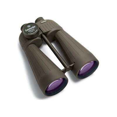 Steiner Binoculars 15x80 Military Binoculars with Compass (O.D.Green)