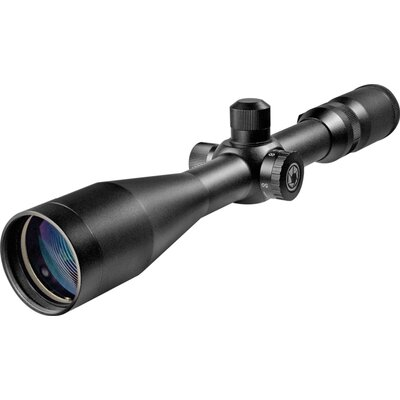 Barska 5-20x50, Benchmark Riflescope, Side Parallax, Black Matte, 30mm, Mil-Dot