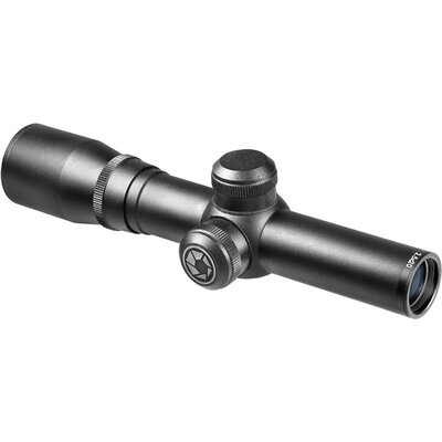2x20 Compact Contour Riflescope, Black Matte, 30/30 Reticle