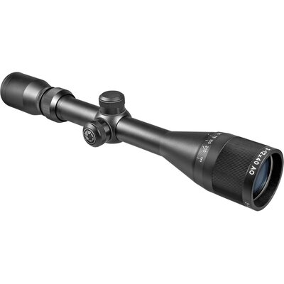 3-12x40 AO Airgun Riflescope, Black Matte, Mil-Dot