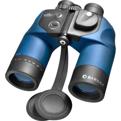 7x50 WP Deep Sea Binoculars, with Internal Rangefinder and DIGITAL Compass, Center Focus, FMC, ...