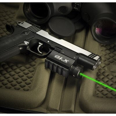 Barska Green Laser with Built-In Mount and Rail