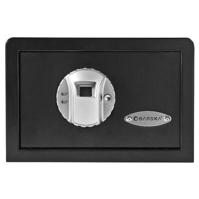 Barska Mini BioMetric Key Lock Wall Safe