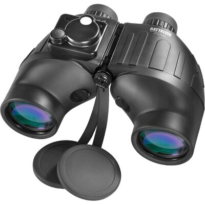 Barska 7x50 WP Battalion Binoculars, Bak-4, FMC, Close Focus