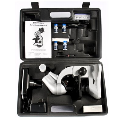 Barska 8MP Digital Microscope with Screen