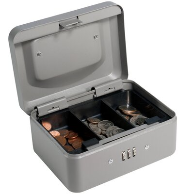 Barska Extra Small Gray Combination Lock Box