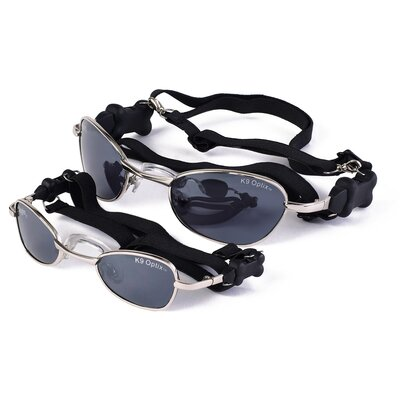 Doggles K9 Optix® Dog Sunglasses in Silver
