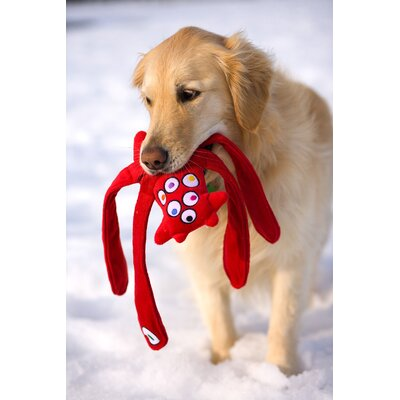 Doggles Monsterpulls™ Dog Toy in Red
