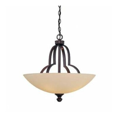 <strong>Savoy House</strong> Marcelina 4 Light Bowl Inverted Pendant