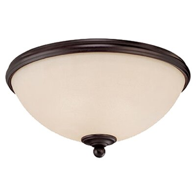 <strong>Savoy House</strong> Willoughby 2 Light Flush Mount